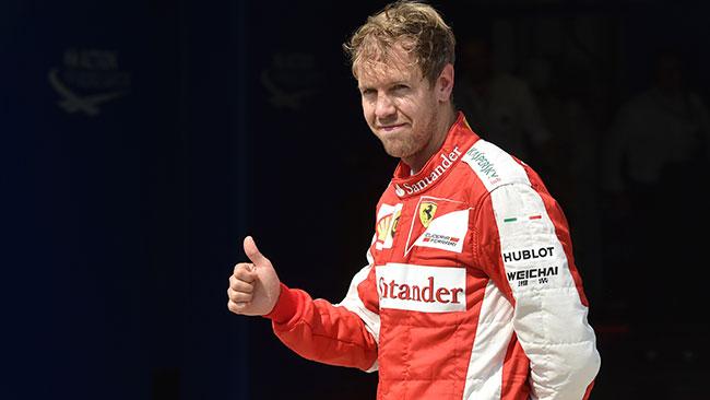 """Vettel: """"Il terzo posto era il massimo per noi oggi"""""""