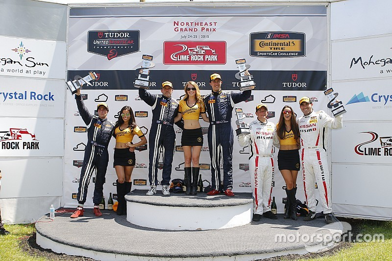 Maxwell y Johnson triunfan en Lime Rock