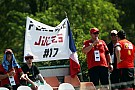 Homenaje a Bianchi antes de la carrera