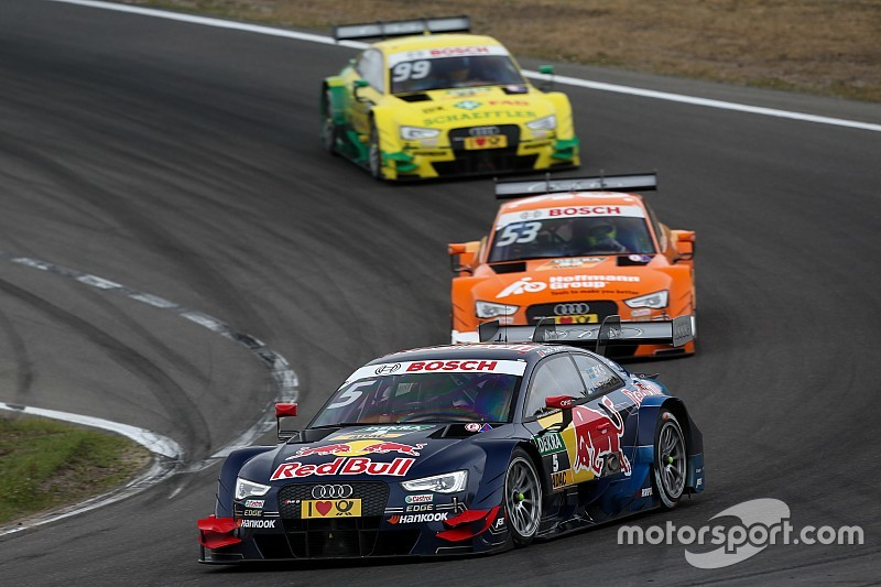 Halfway through the DTM: Audi strongest brand