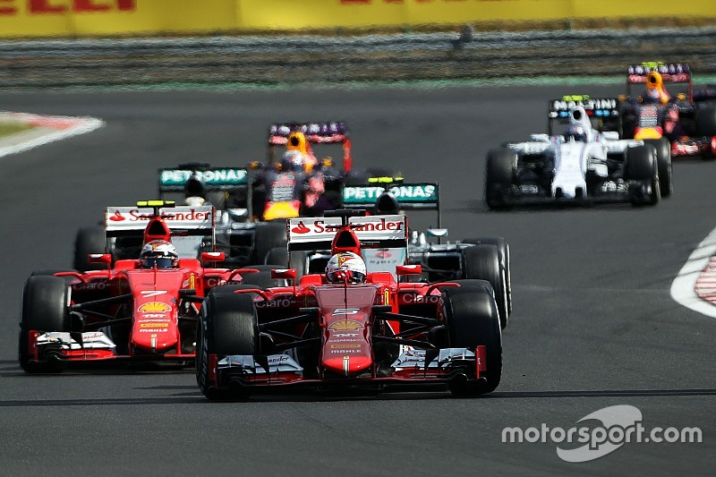"""F1 """"got lucky"""" with incredible race in Hungary – Ecclestone"""