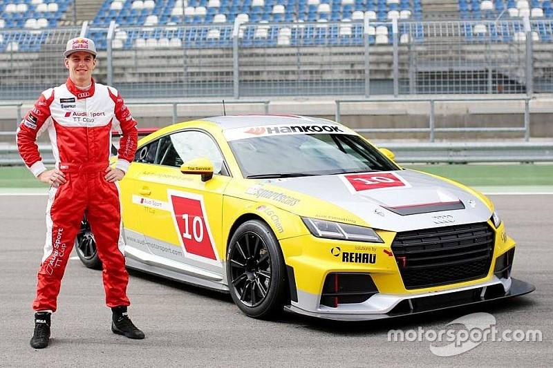 Никита Мисюля дебютирует в Кубке Audi Sport TT