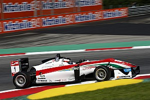 F3 Europe Qualifying report Rosenqvist and Giovinazzi share remaining Spielberg poles