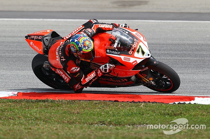 Davies denies Rea's title celebrations with race two win