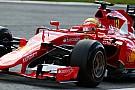 Gutiérrez a piloté une Ferrari dans les rues de Mexico