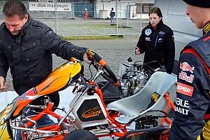 Kart Actualités Vidéos - Découvrez Victoria Verstappen, la petite soeur intrépide de Max!