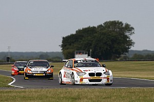 BTCC Practice report Priaulx and Jordan lead the way in Snetterton practice