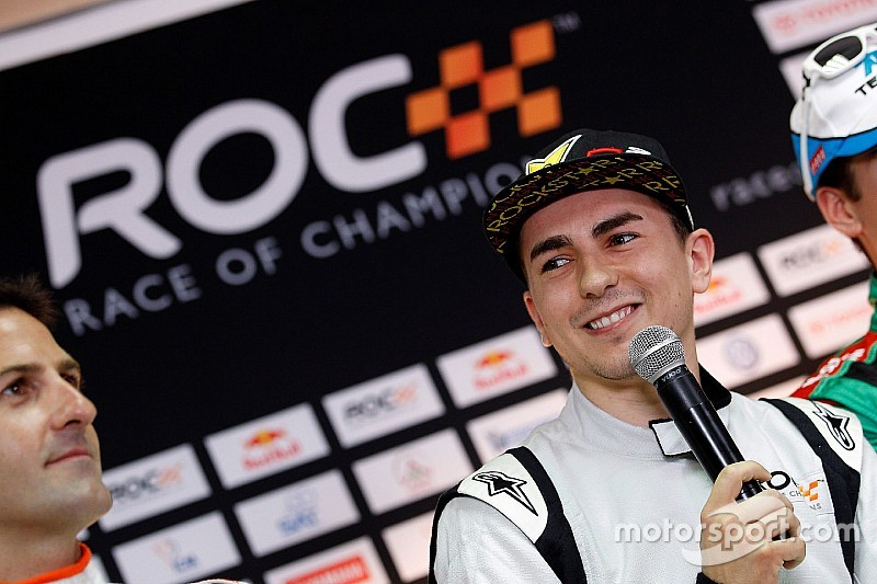 Jorge Lorenzo volta a disputar Race of Champions em 2015