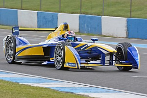 Formula E Testing report Buemi breaks Donington testing lap record