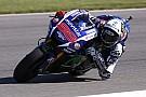 Brno MotoGP: Lorenzo sets the pace, Marquez tumbles