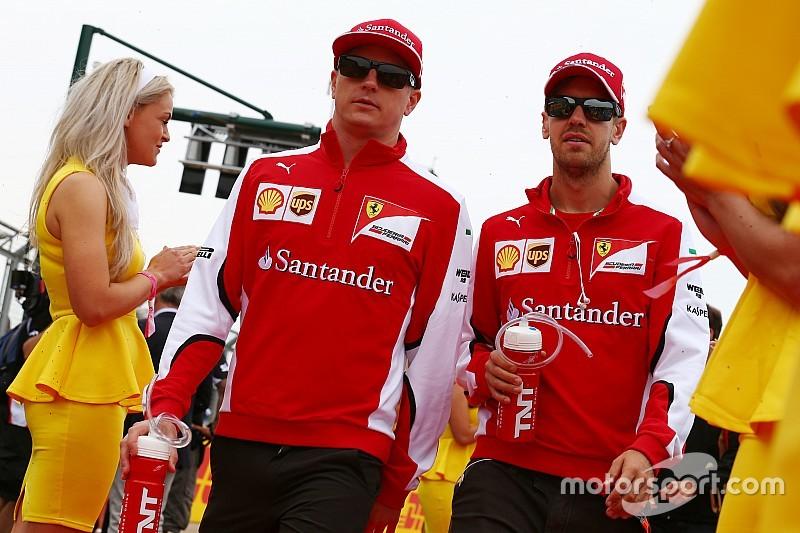 Andretti veut voir durer le tandem Vettel-Räikkönen