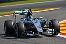 EL2 - Le pneu de Rosberg éclate, la chaleur inquiète Pirelli
