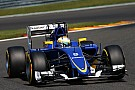 A disappointing result in qualifying for Sauber at Spa