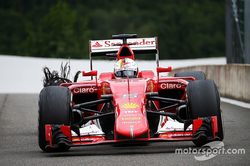 "Vettel sounds off: Pirelli blowouts ""not acceptable"""