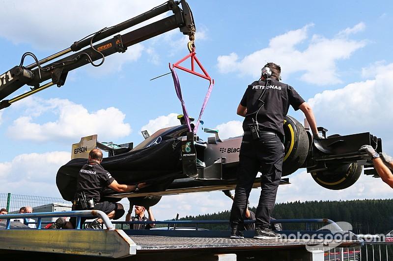 """Pour Rosberg, la délamination de Vettel n'est """"pas acceptable"""""""