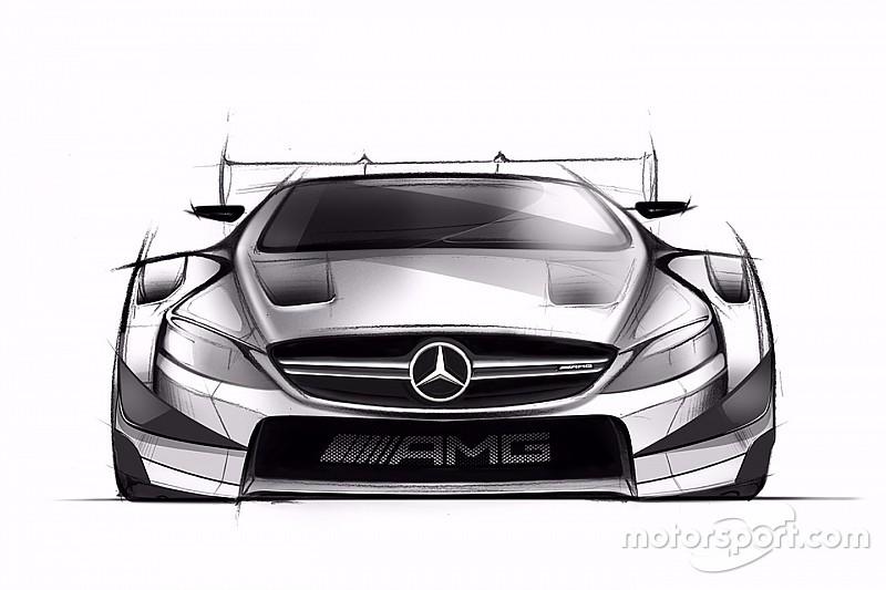 Mercedes revela dibujos de su próximo auto en el DTM