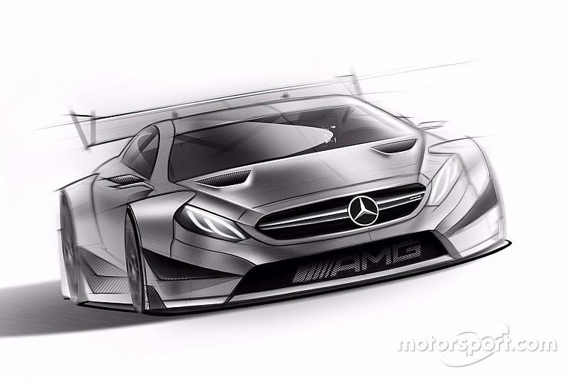 Mercedes dévoile l'esquisse de son AMG C63 DTM pour 2016