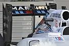 Williams: l'ala posteriore è più bassa della misura limite