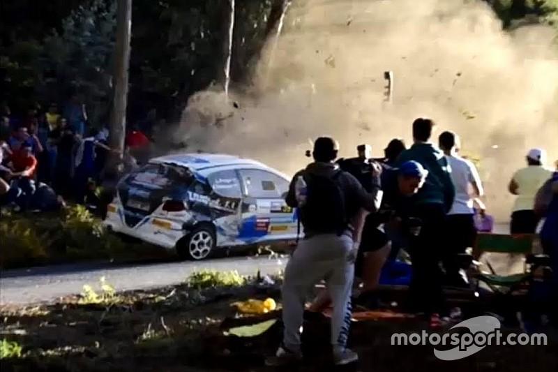 Spanish rally crash leaves seven dead
