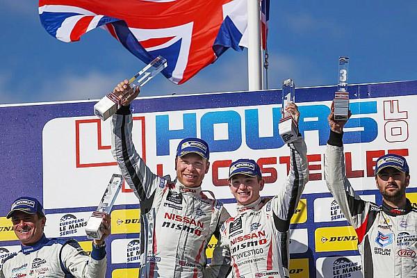 Sir Chris Hoy: Cycling champion becomes motor racing champion