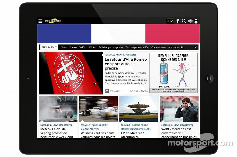 Motorsport.com übernimmt die wichtigste französische Motorsport-Webseite ToileF1.com