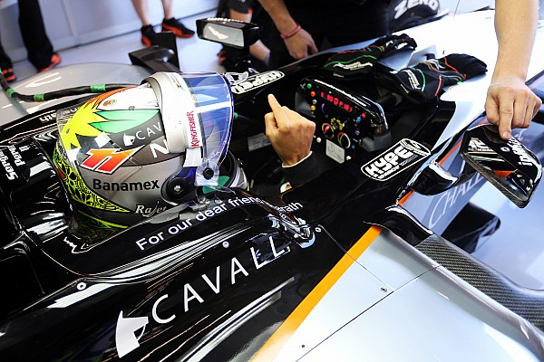 У Force India в Италии украли руль от одной из боевых машин