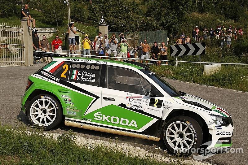 Scandola e D'Amore al 4° Rally Nova Gorica