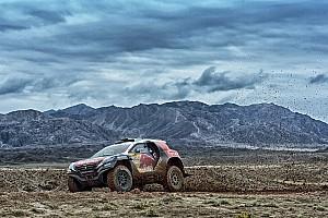 Dakar Résumé de course Sur la route du Dakar, Peugeot et Peterhansel s'imposent en Chine