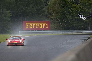 Ferrari Race report Ferrari Challenge North America – Doubles for Anassis, Zoi and Saada at Mont-Tremblant