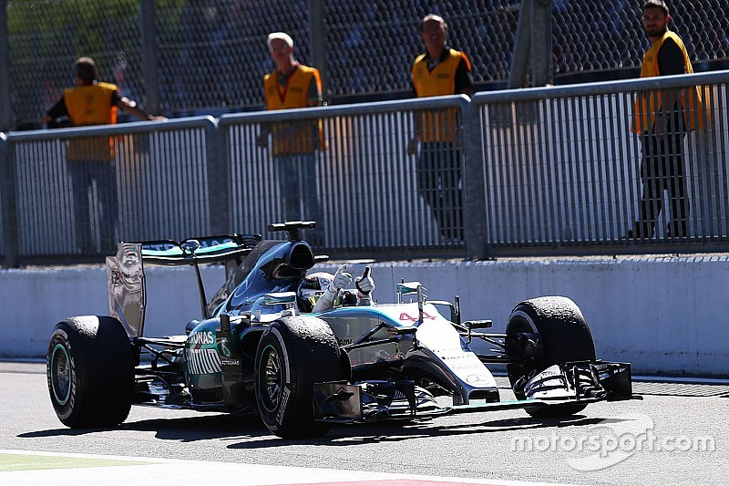 Mercedes era incalcanzable en Monza, dice Lotus