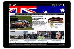 General Motorsport.com news Motorsport.com Launches Australian-Specific Digital Platform