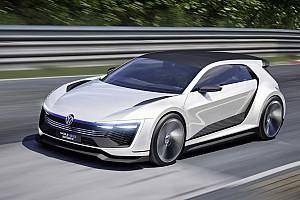 Auto Actualités Volkswagen en mode sportif avec le concept Golf GTE