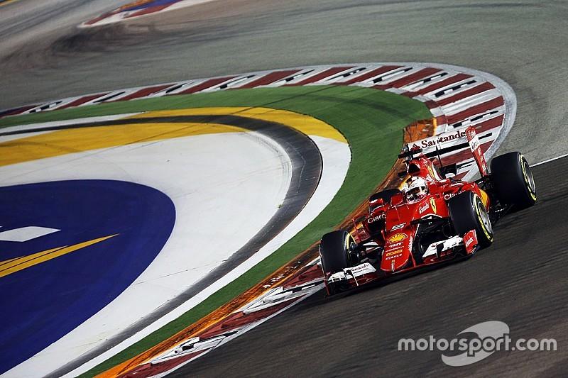 """Vettel - """"J'ai contrôlé la voiture et le rythme"""""""