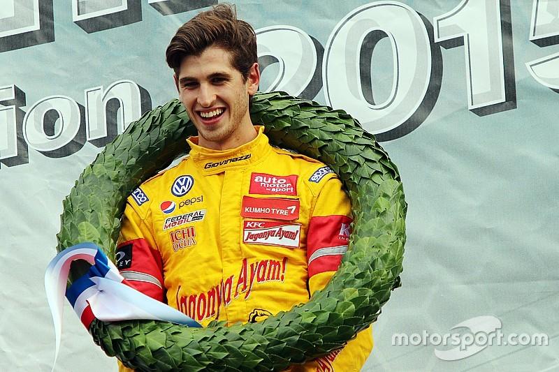 """جيوفينازي فخور بالسير """"على خطى فيرشتابن"""" بعد فوزه بسباق الماسترز"""