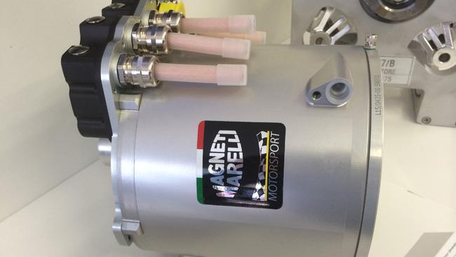 Ecco la prima foto del motore trifase Magneti Marelli!