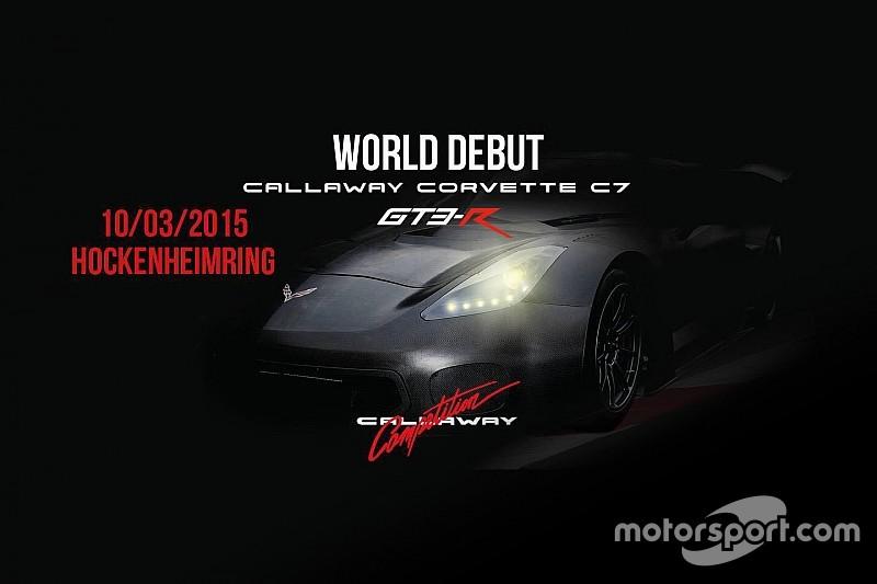 难产之物克尔维特Callaway C7 GT3-R发布在即