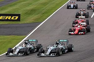 Formule 1 Actualités Mercedes interloqué par la réalisation TV du GP du Japon
