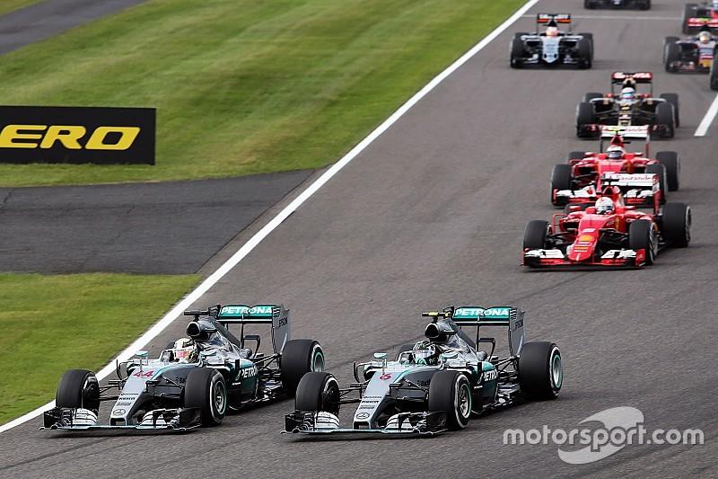 Mercedes interloqué par la réalisation TV du GP du Japon