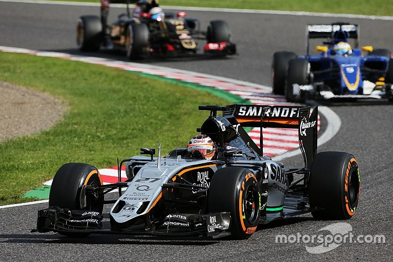 Sahara Force India scored eight points in today's Japanese GP