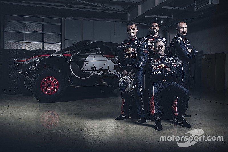 Officiel - Sébastien Loeb avec Peugeot sur le Dakar 2016!
