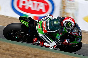 World Superbike Practice report Rea leads proceedings on opening day in France