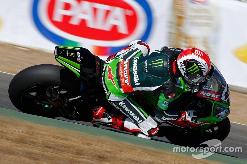Rea leads proceedings on opening day in France
