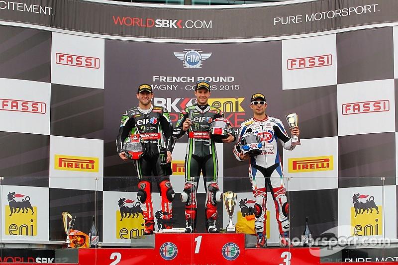 WSBK: Rea se impuso en la primera competencia de Francia