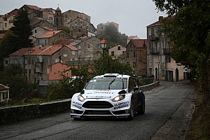 WRC Race report M-Sport World Rally Team's Evans claims career best in Corsica