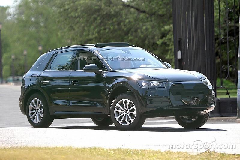 Audi dissimule son Q5 2017 avec une peinture trompe-l'œil