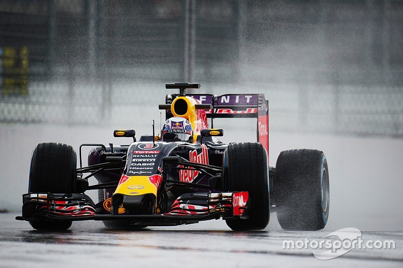 Any useful running for Red Bull on Friday Practice for the Russian GP