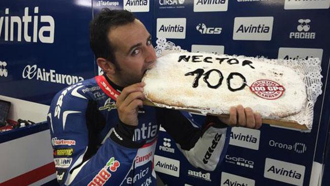Barbera festeggia i 100 Gp in MotoGp a Motegi