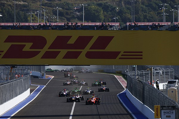 Cancelan la carrera de GP3 por daños en las defensas
