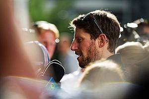 Formule 1 Résumé de qualifications Grosjean -
