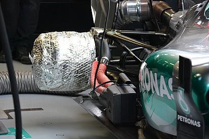 Tech analysis: Mercedes brake heating a tyre boost